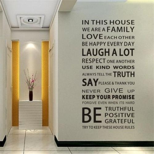 Decor, muraldecal, Home Decor, Family