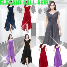 Plus Size, partydressesforwomen, chiffon, plus size dress