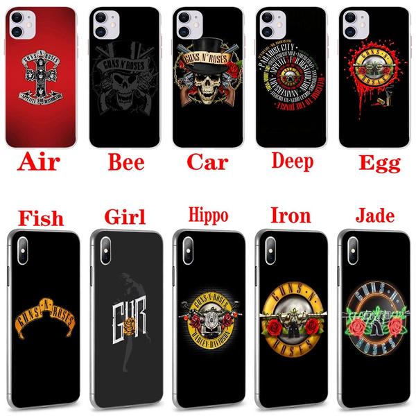 HO1352 Guns N Roses Hard Case Cover Shell for iPhone 4 4s 5 5s Se 6 7 7plus 8 8Plus X XS MAX XR 6s Plus 11 pro max | Wish