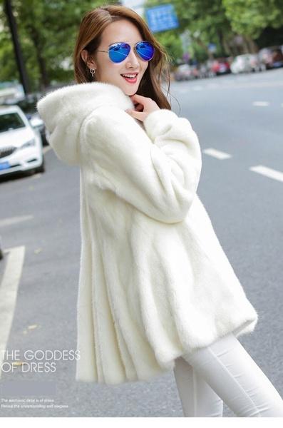 fur coat, fashion women, fur, Winter