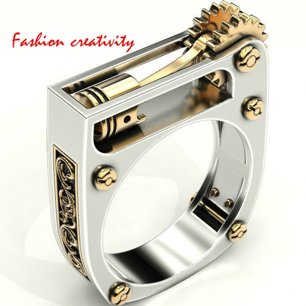 yellow gold, Goth, gold, Stainless Steel
