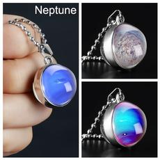 doublesidenecklace, cosmosnecklace, neptunechoker, Jewelry