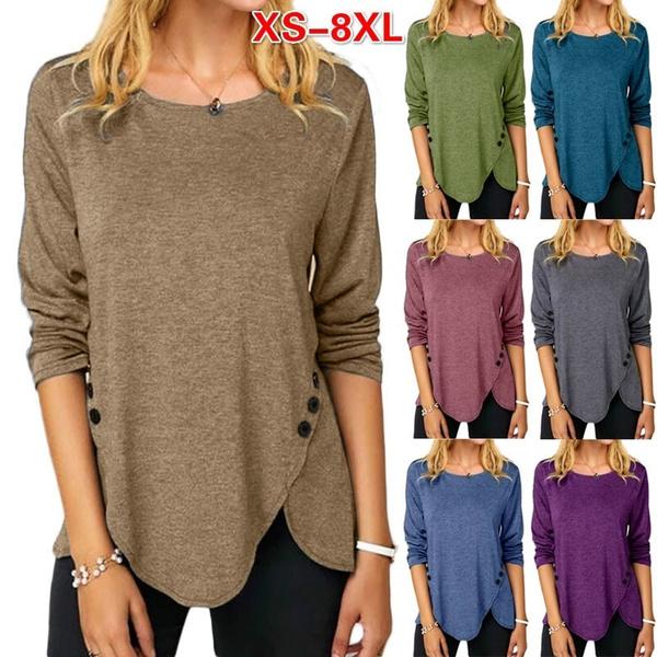 Blouses & Shirts, long sleeved shirt, Women Blouse, Long Sleeve