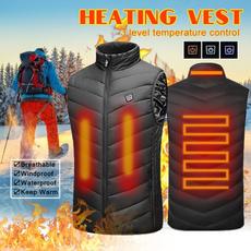 Vest, Outdoor, Electric, heatedjacket