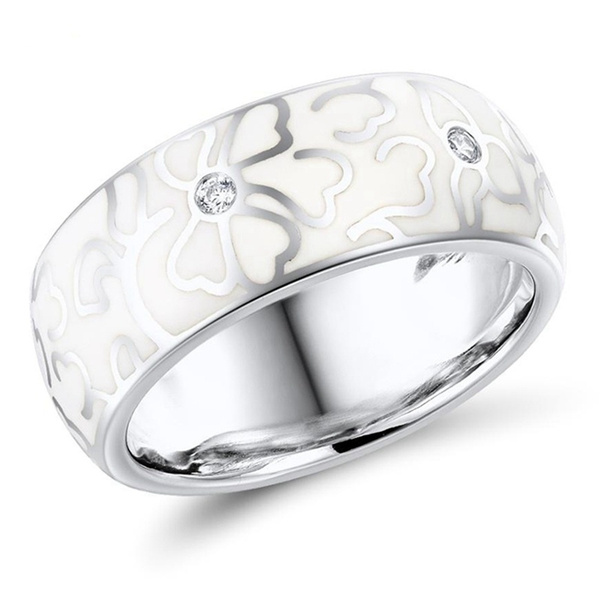ceramicring, Fashion, Women Ring, Gifts