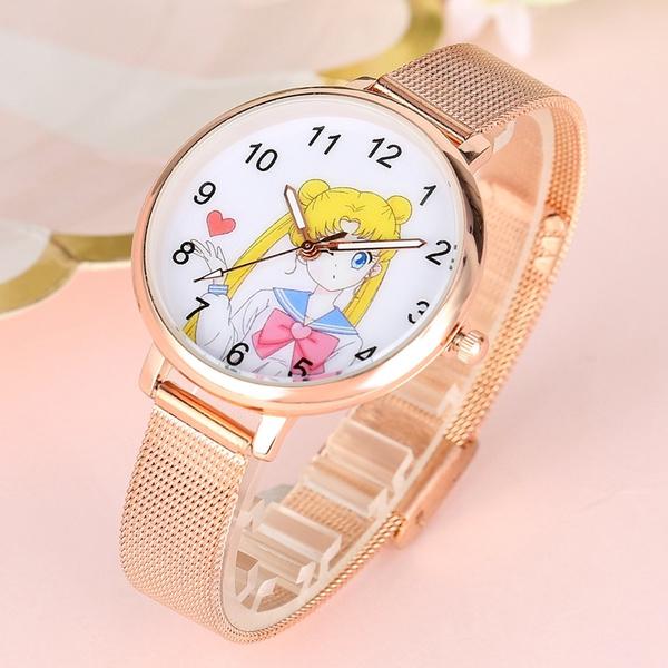 quartz, gold, rosegoldwristwatch, Watch