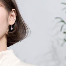 Sterling, earrings jewelry, Hoop Earring, Dangle Earring