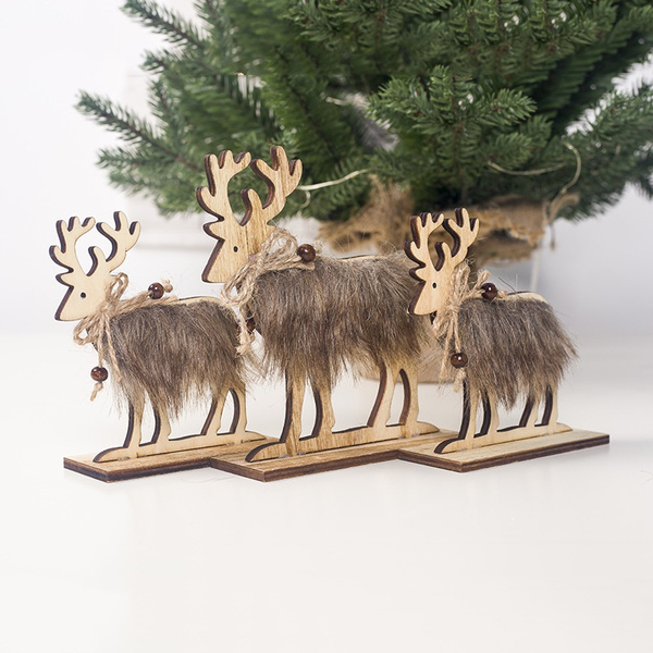hairy, elk, Christmas, Home & Kitchen