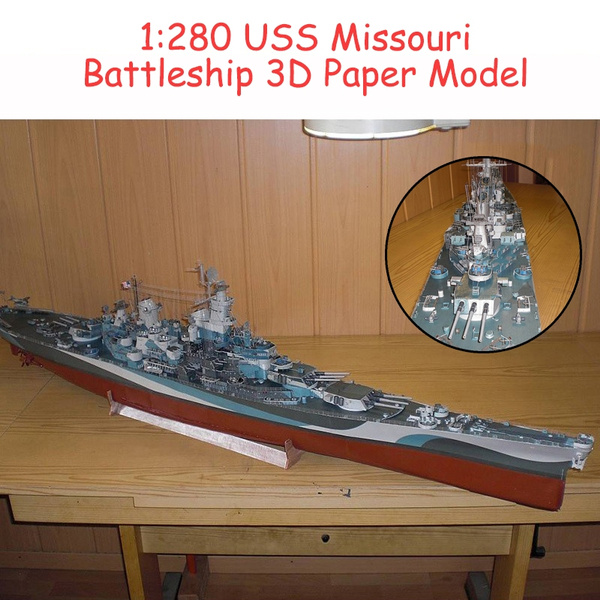 Toy, warship, Jigsaw Puzzle, battleship
