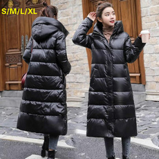 lightcoat, lightduckdownjacket, hooded, Winter
