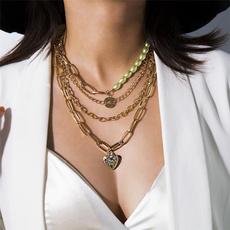 restoringancientway, Chain Necklace, Love, Jewelry