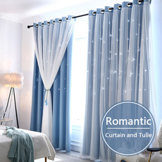 Star, homewindowcurtain, bedroom, blackoutcurtain