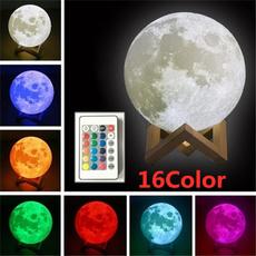 3dmoonlamp, Night Light, moonlamp, lights