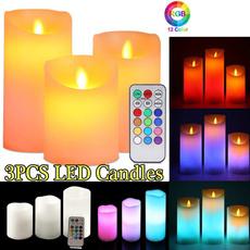 birthdaycandle, led, Christmas, candlelight