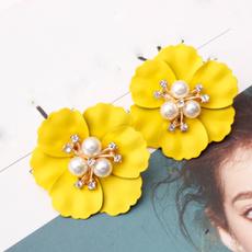 Korea fashion, Fashion, Pearl Earrings, Stud Earring