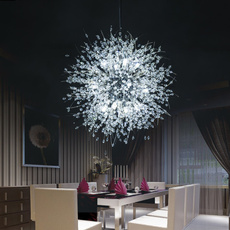 led, Home Decor, gold, dandelionchandelier