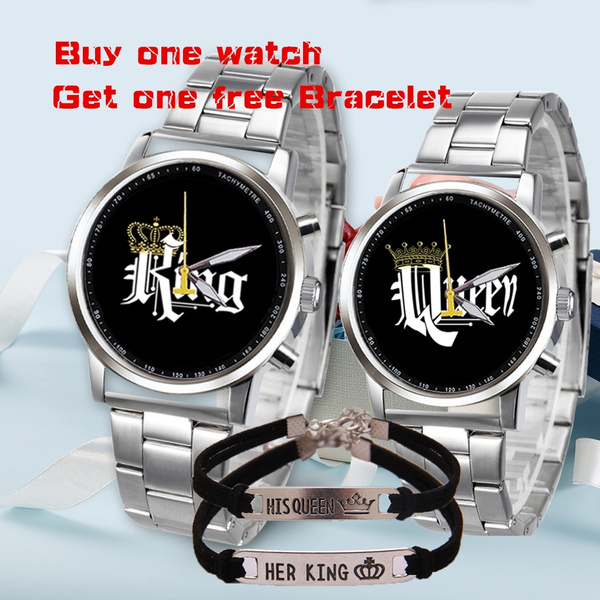 coupleswatche, Steel, Fashion, Stainless Steel