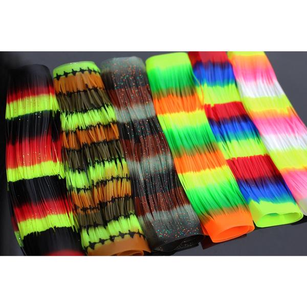 rainbow, siliconeskirtlure, Silicone, Skirts