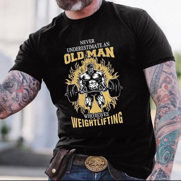 oldmanshirt, grandpashirt, Fitness, Funny