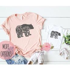 Fashion, letter print, mommyandme, familygift