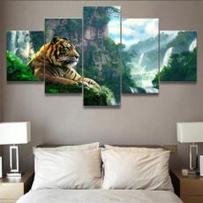 Mountain, Modern, art, tigeroilpainting