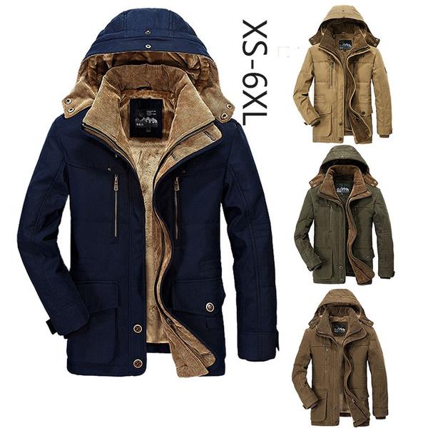 hoodedcottonoutwear, hooded, Winter, men clothing