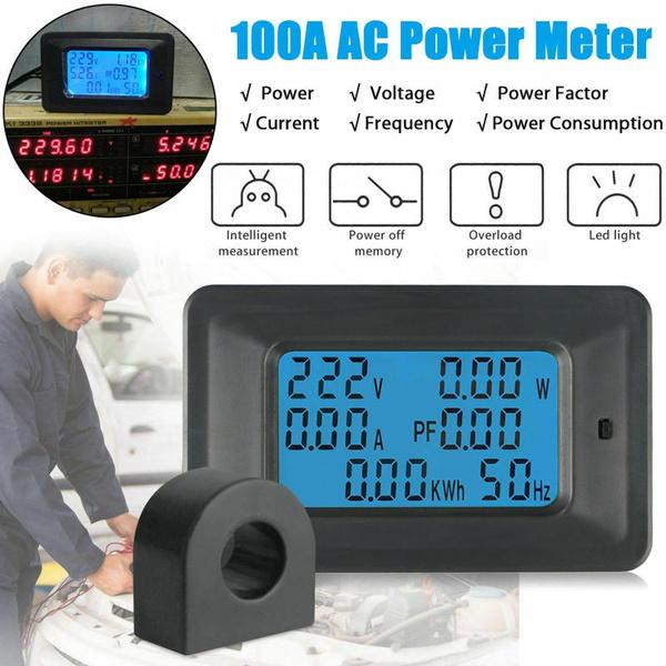 Monitors, digitalvoltagemonitormeter, voltagecurrentmeter, powervoltmeterammeter