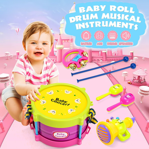 Toy, Musical Instruments, Gifts, babydrumset