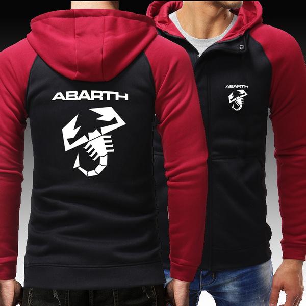 hooded, abarth, Zip, abarthlogo