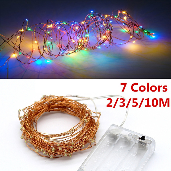 Copper, christmasfairylight, batterypowered, led