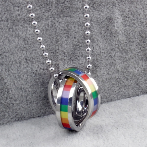 Steel, rainbow, Stainless Steel, Jewelry