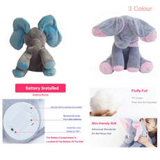 plushbabytoy, cute, cartoonelephant, Toy