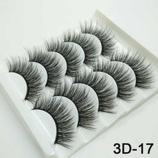 Eyelashes, Beauty tools, Beauty, 5pairseyelashe