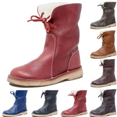 ankle boots, hikingboot, midcalfboot, Leather Boots