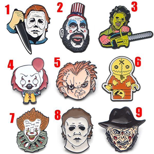 halloweenpin, hatpin, killerpin, Pins