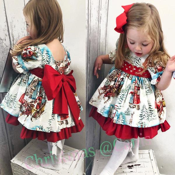 Swing dress, Baby Girl, Toddler, Christmas