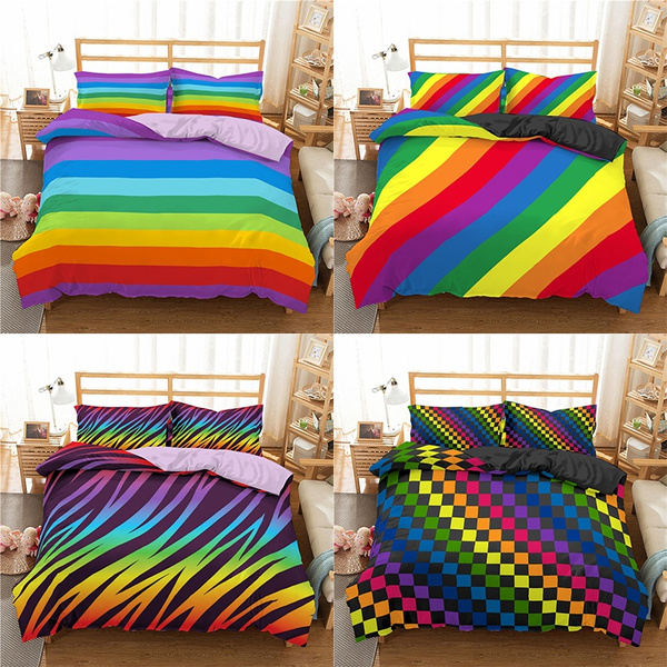 rainbow, Home Decor, printed, Stripes