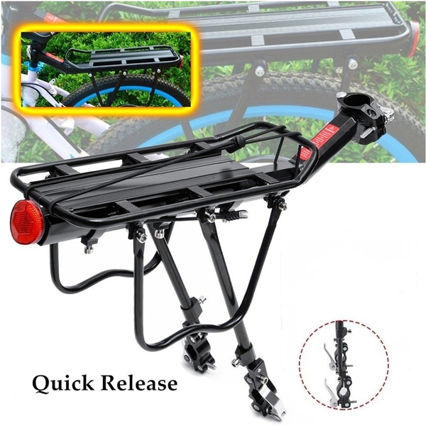 Bicycle Mountain Bike Rear Rack Seat Post Mount Luggage Carrier