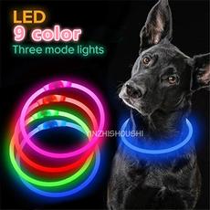 leddogcollarlight, led, dogchaincollar, Pets