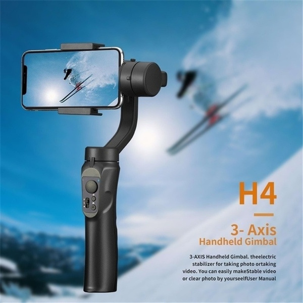 Mobile Phone Stabilizer 3-axis Gyroscope Handheld Anti-Shake Balance Pan//tilt Video Photography Photo Rotating Pan//tilt Outdoor Sports Zyyqt Handheld Stabilizers Stabilizer