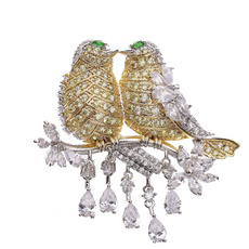 twobird, brooches, Love, Fashion Accessories