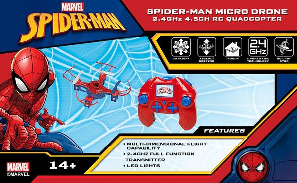Spiderman, Quadcopter, Remote, Remote Controls