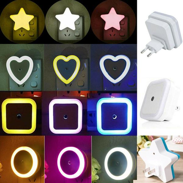 automaticsensorwallpluglednightlight, kidsnightlight, lednightlightautosensor, nightlightlampforkidsbedroom