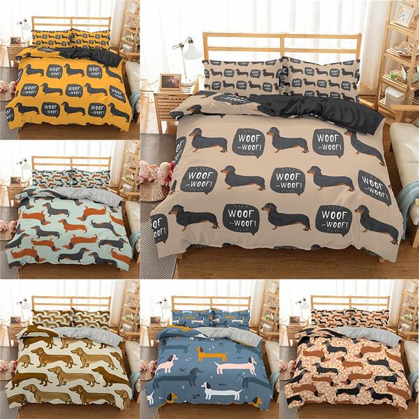 cartoonbeddingset, cute, Colorful, Home textile