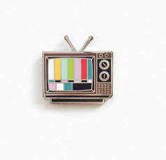 rainbow, metalpin, Pins, TV