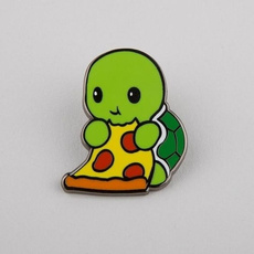 Turtle, cute, brooches, backpackpin