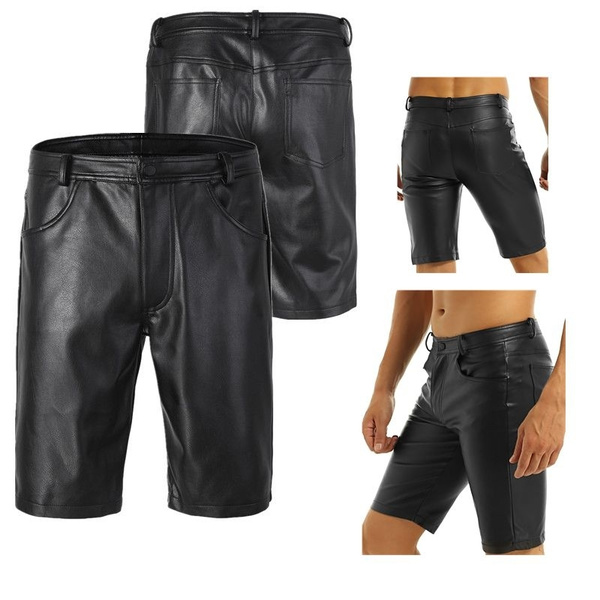 Shorts, clubwear, pants, leather