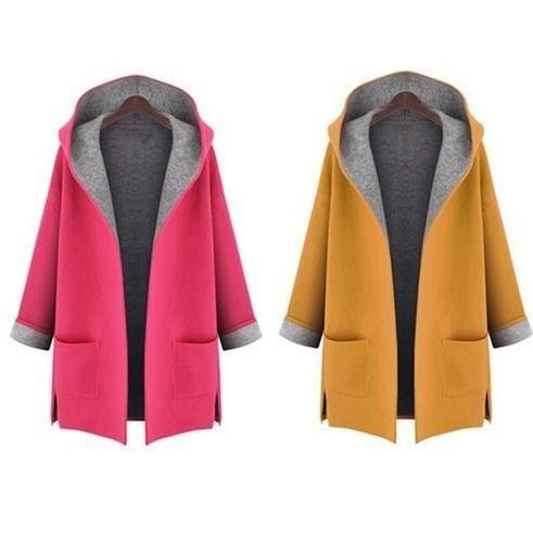woolen, hooded, Outerwear, winter coat