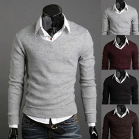 Male Sweaters Men Best Style V Neck Mens Sweaters Pullover