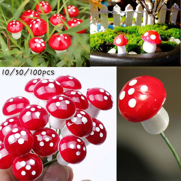 Mini, miniaturesdecor, Mushroom, artificialmushroom
